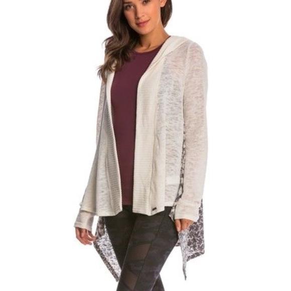amplia selección recogido calidad de marca Prana Hilo Duster Sweater Hoodie CARDIGAN SZ L NEW NWT